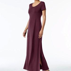 Orchard Vine Petite Scoop-Neck Maxi Dress (PM)
